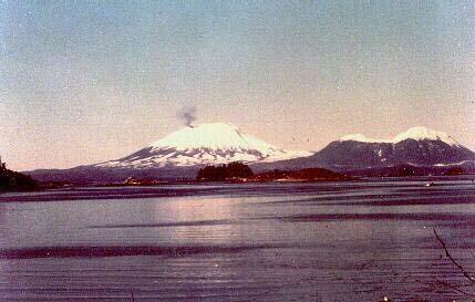 Ai, meu Deus! O vulcão do Monte Edgecumbe vai explodir!